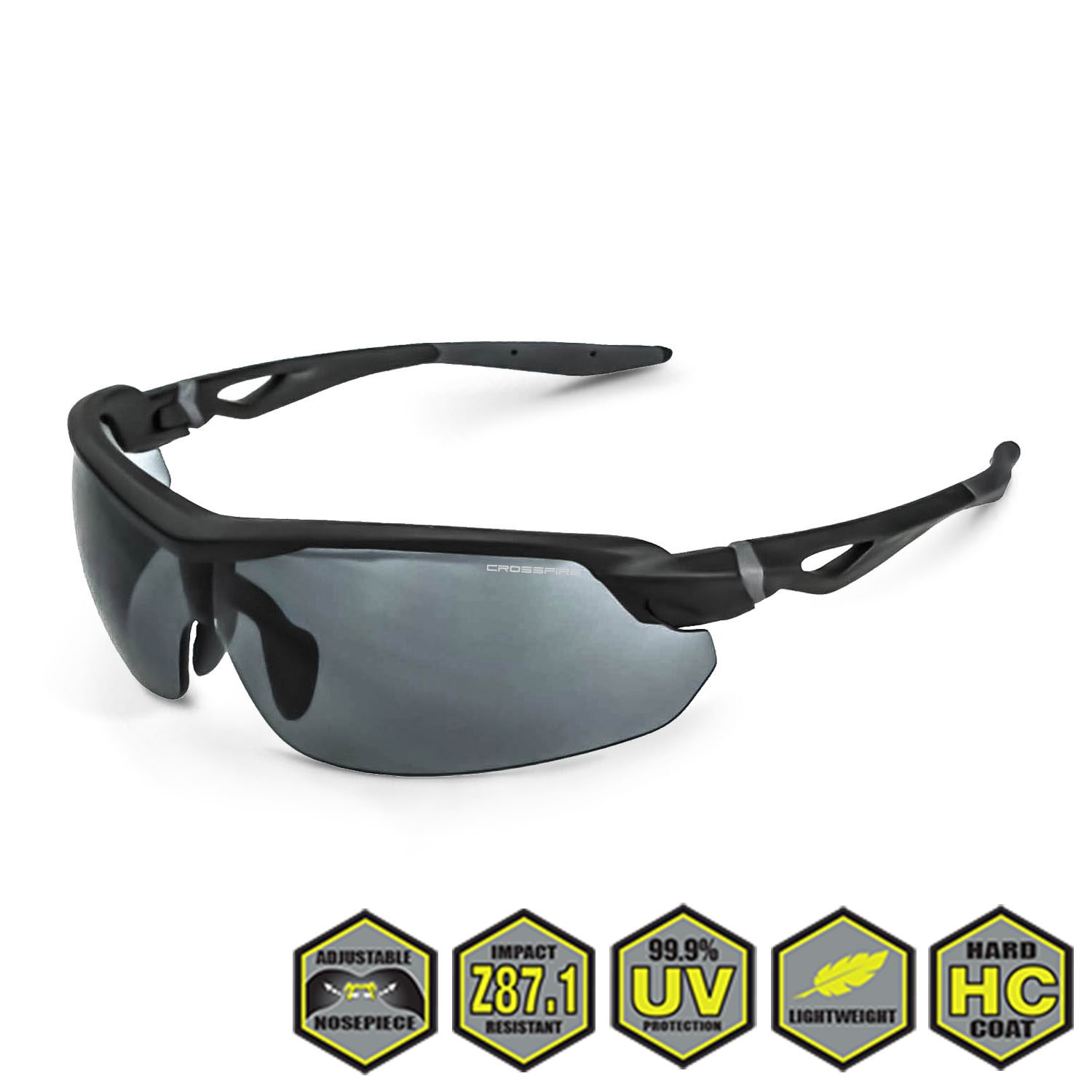 323efc5118 Radians Crossfire Cirrus Safety Glasses