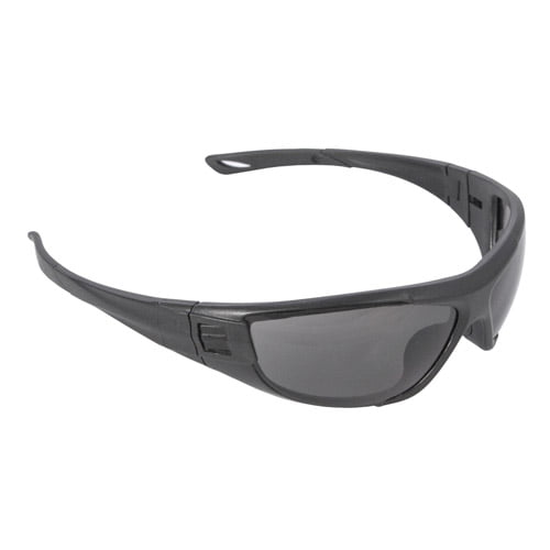 Radians CT1-11 Cuatro™ 4-in-1 Foam Lined Safety Glasses, CT1-21 Smoke