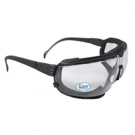 Radians Dagger™ IQ Anti-fog Foam-lined Safety Goggle, DG1-13 Clear Anti-fog Lens