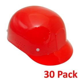 Radians Diamond Bump Cap, 30-pack Red