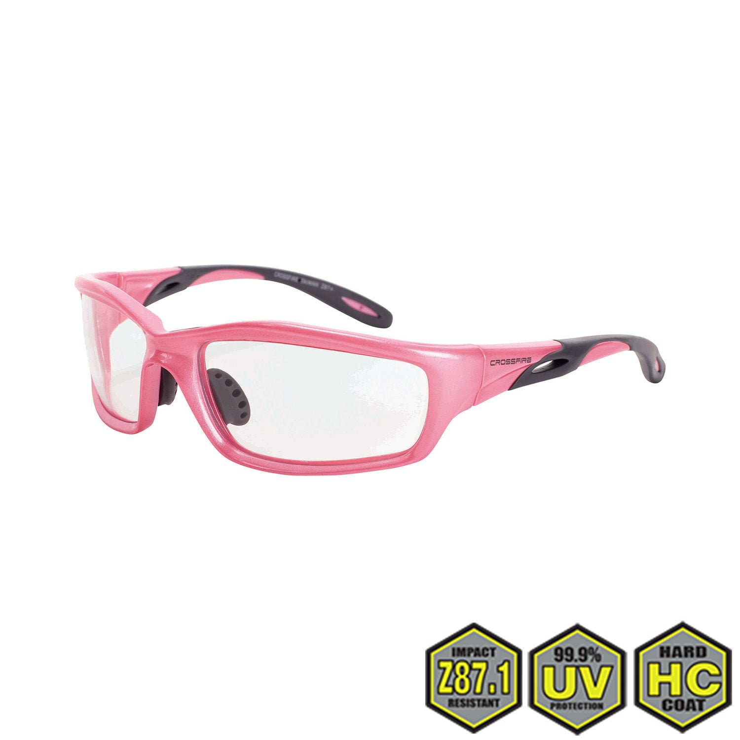 f60c1bb2f24 Radians Crossfire Infinity Pink Safety Glasses