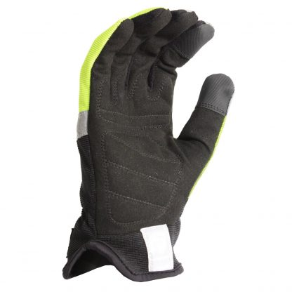 Radians RWG100 Radwear Silver Series All Purpose Synthetic Hi-Viz Utility Glove, Front