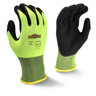 Radians RWG10 Radwear Silver Series Hi-Viz Knit Dip Work Glove, Main