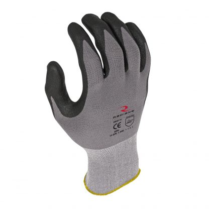 Radians RWG11 Microdot Foam Nitrile Gripper Work Glove, Back