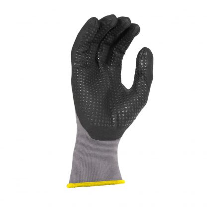 Radians RWG11 Microdot Foam Nitrile Gripper Work Glove, Palm