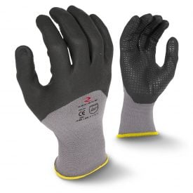 Radians RWG12 Foam Dipped Dotted Nitrile Work Gloves, Main