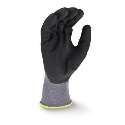 Radians RWG20 3/4 Foam Dipped Nitrile Work Gloves, Palm