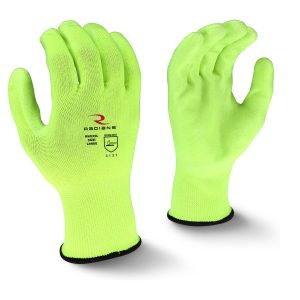 Radians RWG22 High Visibility PU Polyester Work Glove, Pair