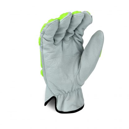 Radians RWG50 Cut Resistant Work Gloves, Cut Protection Level A4 with TPR Knuckle Protection, Palm