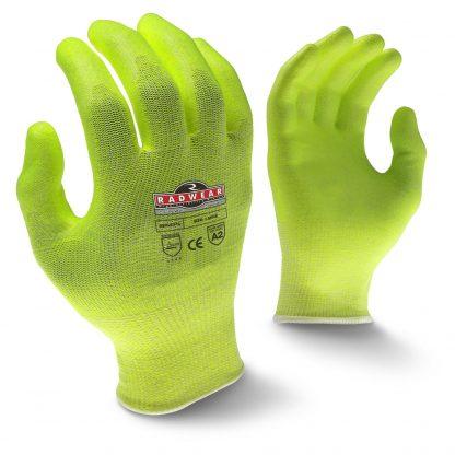 Radians RWG531 Level 2 Cut Resistant Hi-Viz Work Gloves, Main