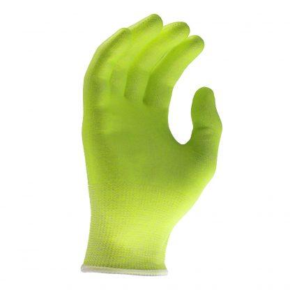 Radians RWG531 Level 2 Cut Resistant Hi-Viz Work Gloves, Palm