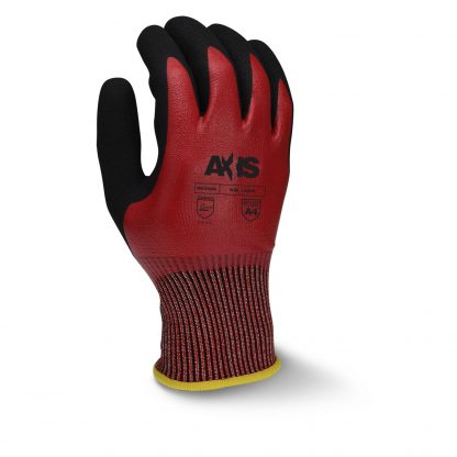 Radians RWG556 AXIS™ Cut Level A4 Nitrile Dipped Work Gloves, Back