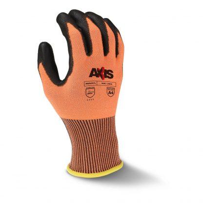 Radians RWG557 AXIS™ Cut Level A4 High Tenacity Nylon Work Glove, Back