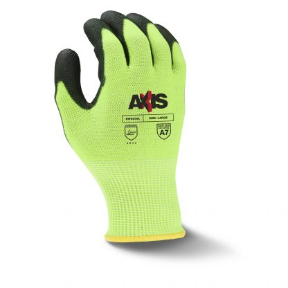 Radians RWG558 AXIS™ High Visibility Cut Level A7 Work Glove, Back
