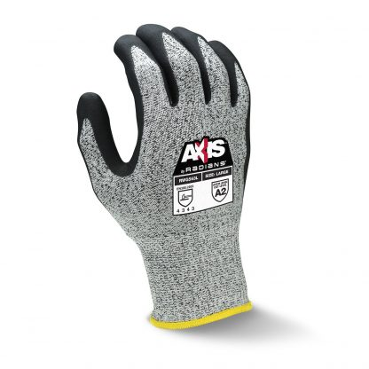 Radians RWG563 Axis Cut level A2 Cut Resistant Nitrile Gloves, Back