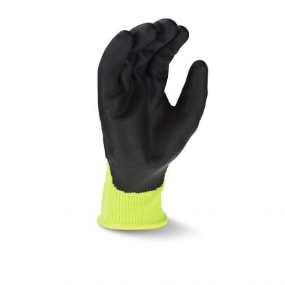 Radians RWG564 Cut Level A4 AXIS™ High Visibility Nitrile Dipped Gloves, Palm