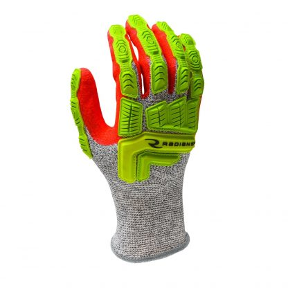 Radians RWG603 ANSI Cut Level 5 Cut Resistant Safety Gloves, Back