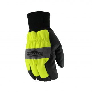 Radians RWG800 Thermal Lined Hi-Vis Work Glove, Back