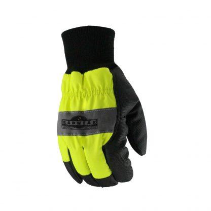 Radians RWG800 Thermal Lined Hi-Vis Work Glove, Back