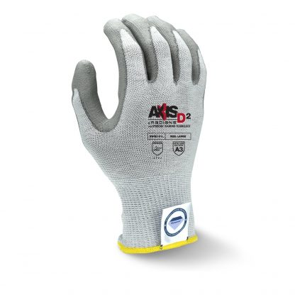 Radians RWGD101 AXIS D2™ Cut Level A2 Work Glove With Dyneema Diamond Technology, Back