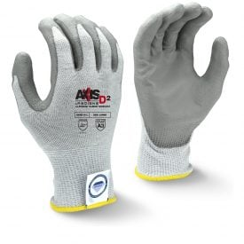 Radians RWGD101 AXIS D2™ Cut Level A2 Work Glove With Dyneema Diamond Technology, Pair