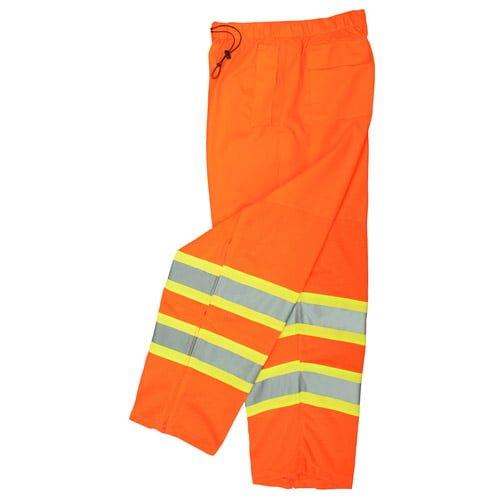 Radians SP61 Class E High Visibility Safety Pants, Mesh ORange