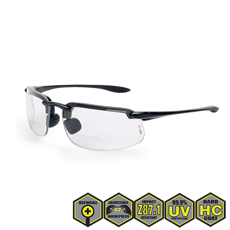 7e3ae35946d Radians crossfire ES4 Bifocal Safety Reader s Glasses