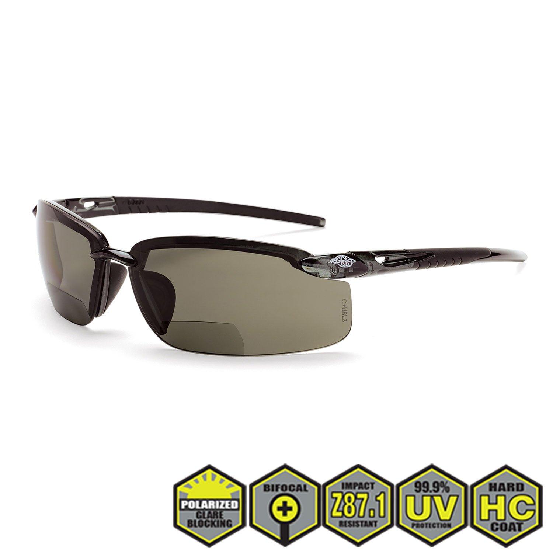 e09efe262b Crossfire ES5 Polarized Prescription Safety Glasses