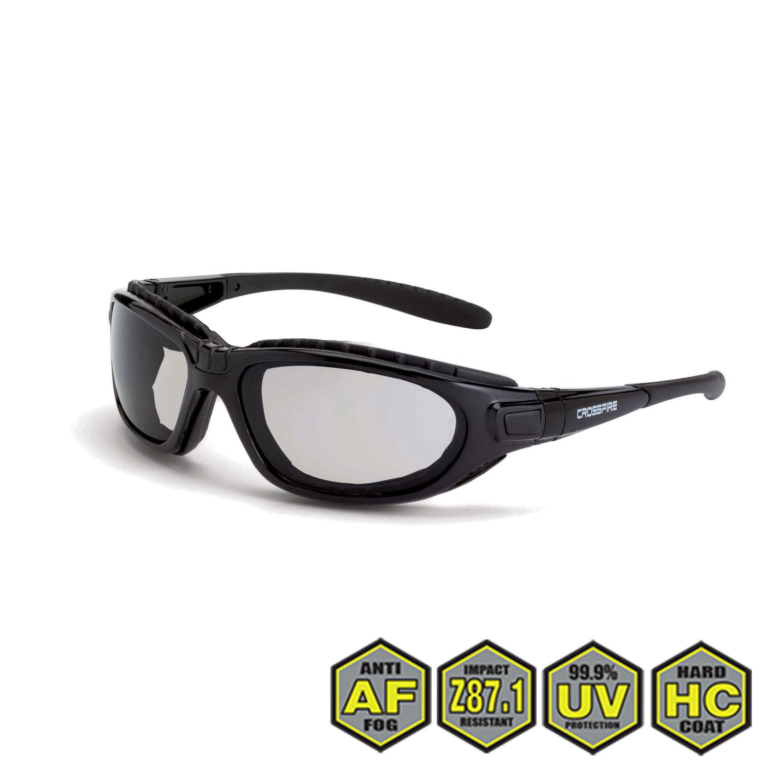 49a12e144141e ... Crossfire 28415AF Journeyman Foam Lined Safety Glasses