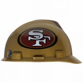 MSA Offically licensed NFL Hard Hats, 49ers