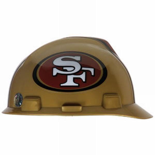MSA Offically licensed NFL Hard Hats, 49ers