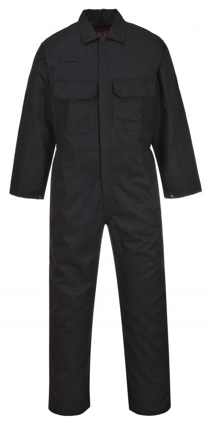 Portwest UBIZ1 Black 99% Cotton Resistant Coverall