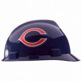 MSA Officially licensed NFL Hard Hats, Chicago Bears