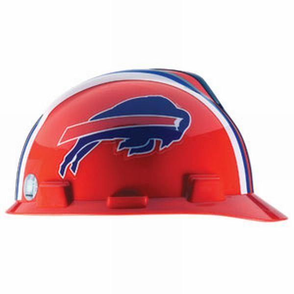 Buffalo Bills MSA Protective Hard Hat 59b4b0b01