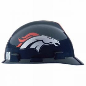 MSA Officially licensed NFL Hard Hats, Denver Broncos
