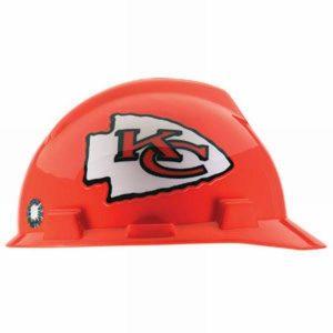 MSA Officially licensed NFL Hard Hats, Kansas City Chiefs