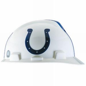 MSA Officially licensed NFL Hard Hats,