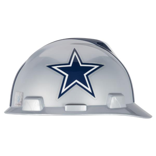 4897d69b2 MSA V-Gard Cap-style NFL Hard Hat are available in every NFL Team Logo. Even  the bad ones  like Green Bay.