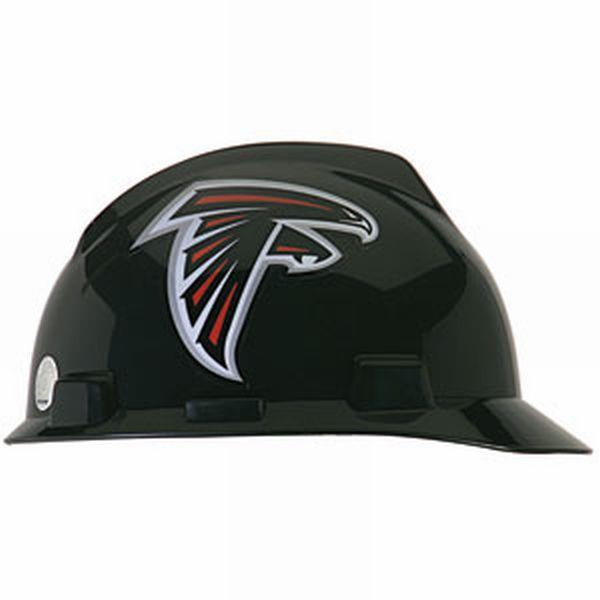 Atlanta Falcons MSA V-Gard Cap-style NFL Hard Hat 4de449b8bd88