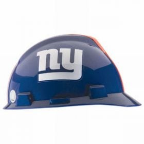 MSA Officially licensed NFL Hard Hats, New York Giants