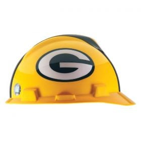 MSA Officially licensed NFL Hard Hats, Green Bay Packers