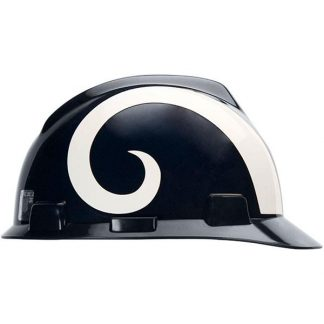 MSA Officially licensed NFL Hard Hats, Los Angeles Rams