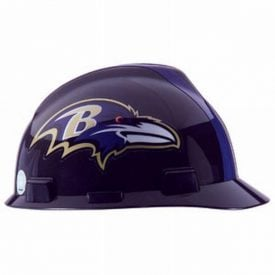 MSA Officially licensed NFL Hard Hats, Baltimore Ravens