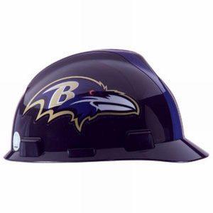 MSA Officially licensed NFL Hard Hats, Baltimore Ravens