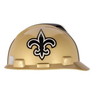 MSA Officially licensed NFL Hard Hats, New Orleans Saints