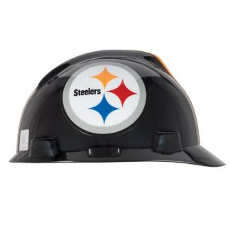 MSA Officially licensed NFL Hard Hats, Pittsburg Steelers