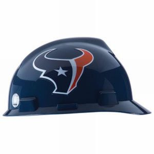 MSA Officially licensed NFL Hard Hats, Houston Texans