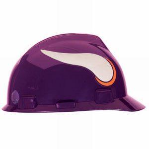 MSA Officially licensed NFL Hard Hats, Minnisota Vikings
