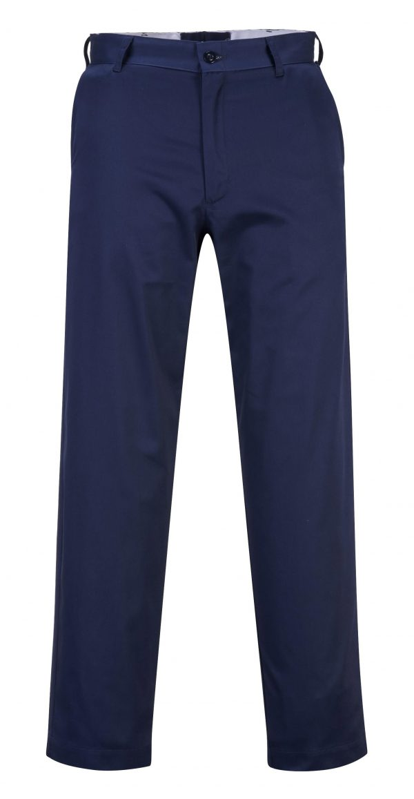 Portwest 2886 Industrial Work Pants, Navy Blue, Front