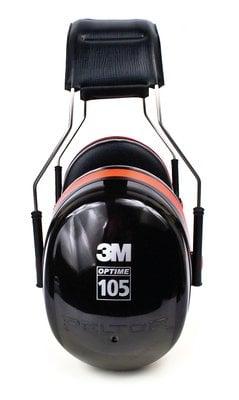 3M™ PELTOR™ Optime™ 105 Earmuffs H10A, Over-the-Head, side